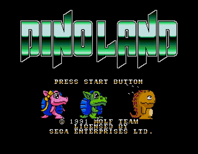Name : DINO LAND ROM file : Dino_Land-U-.zip
