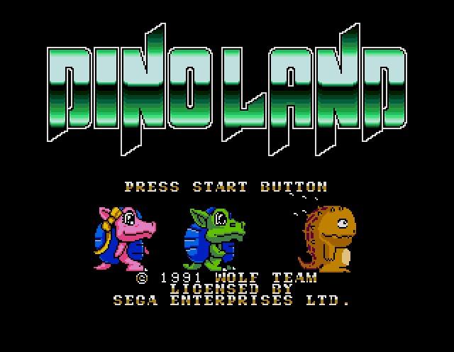 Name : DINO LAND ROM file : Dino_Land-U-.zip